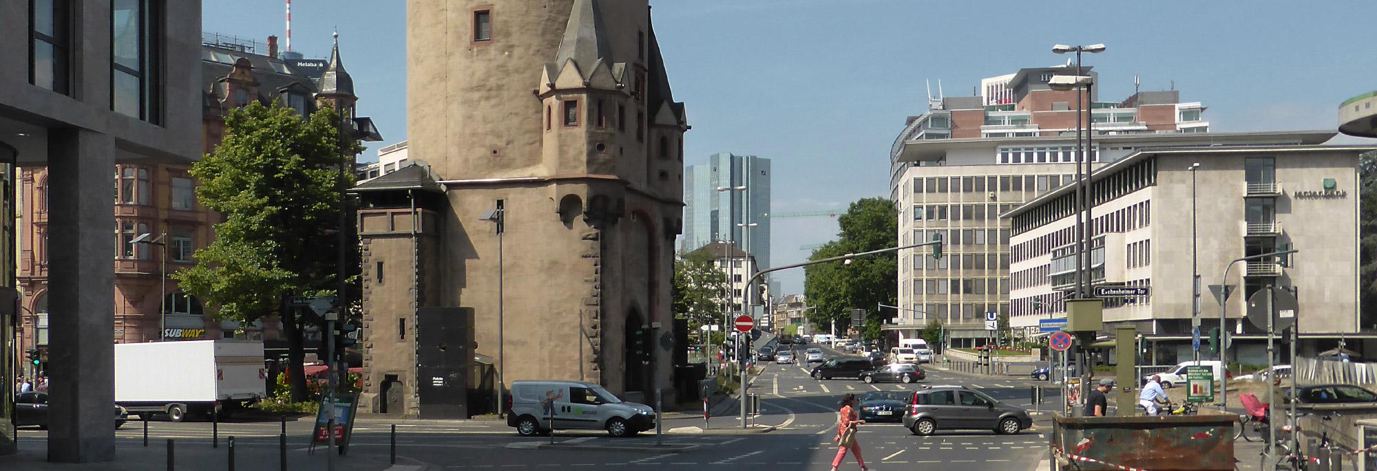 Anlagenring Frankfurt am Main - Anlagen Ring FFM - Verkauf - Eschenheimer Tor