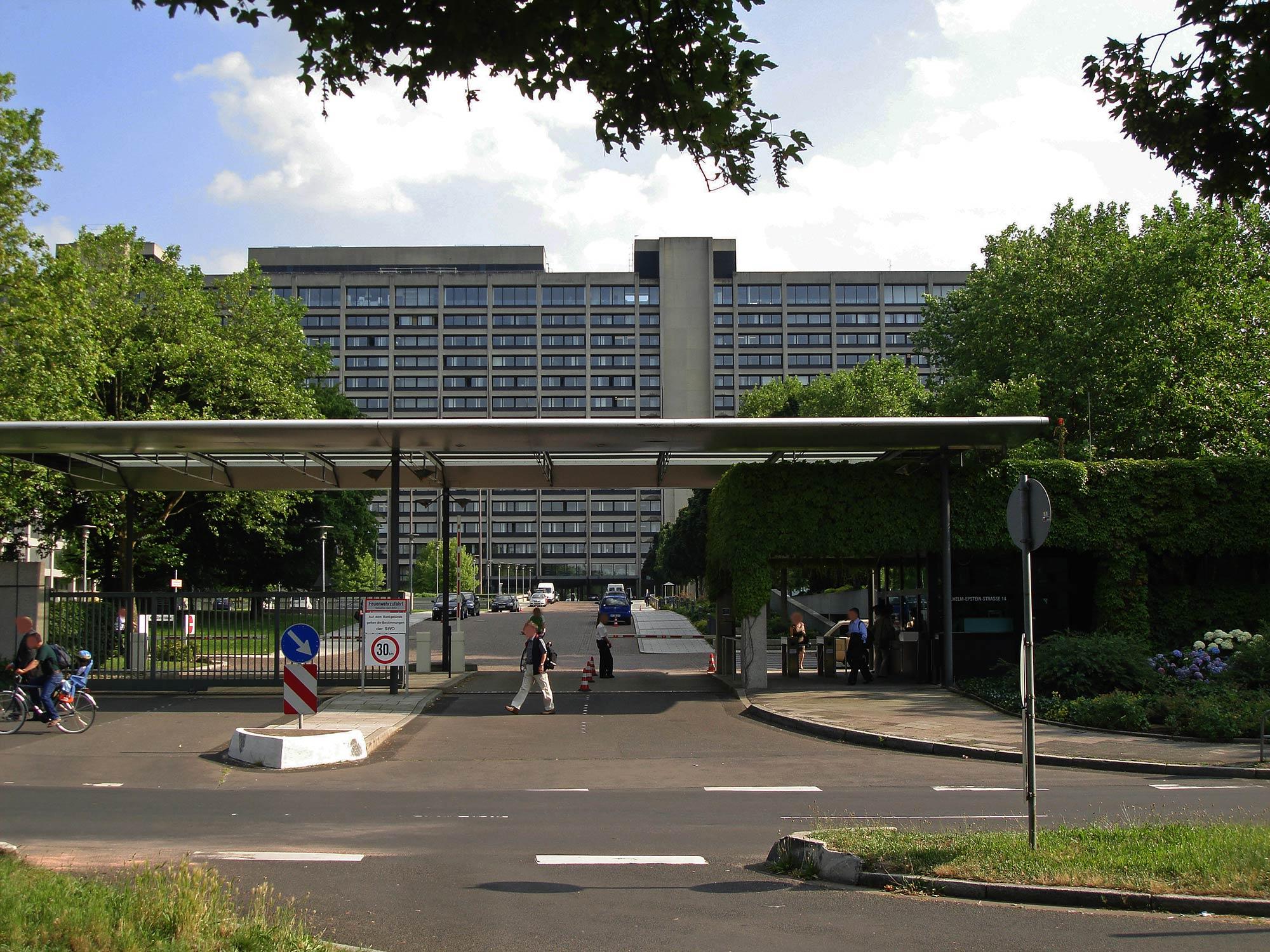 Deutsche Bundesbank Frankfurt am Main - Buba Campus - Zentrale der Bundesbank in Ginnheim