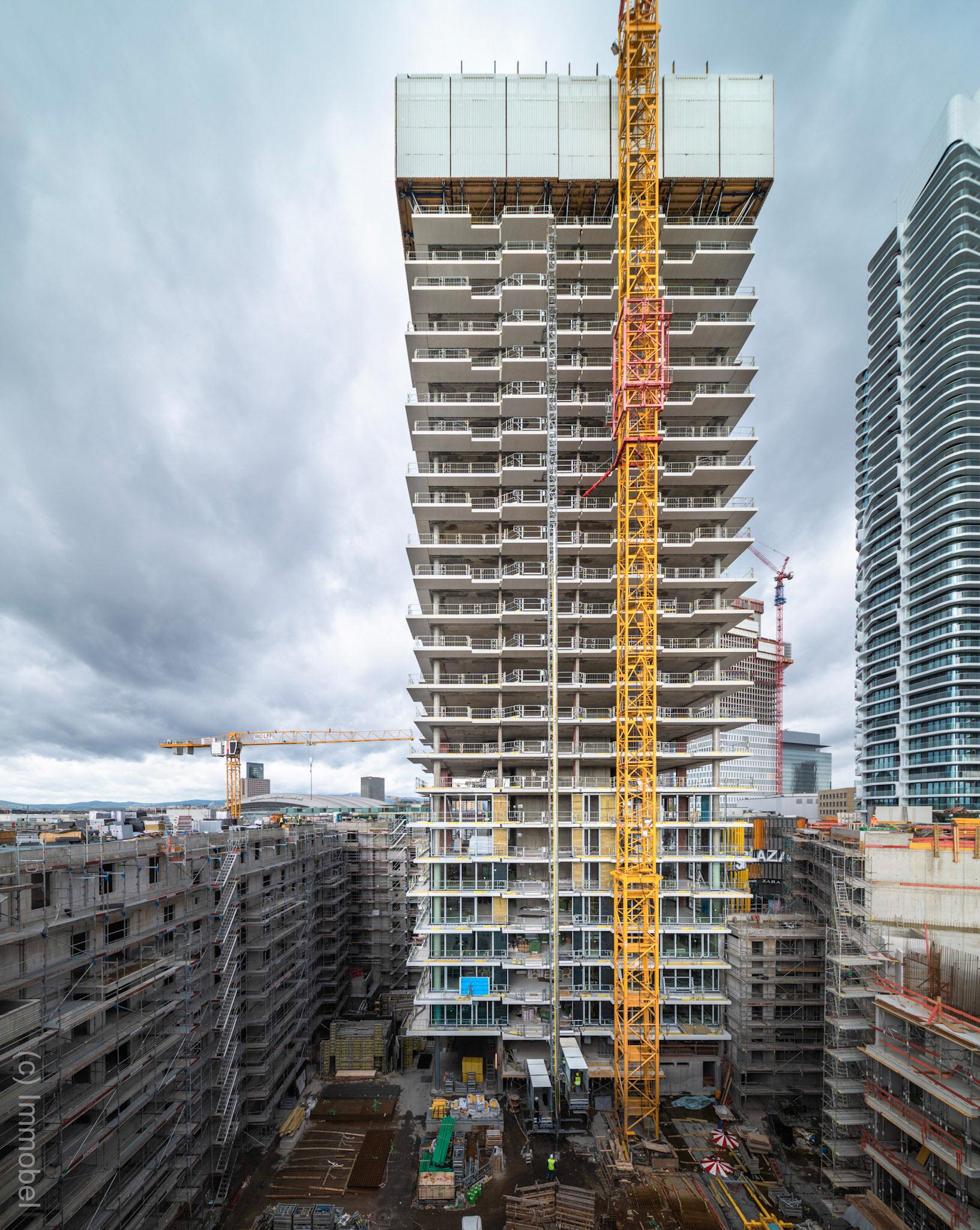 EDEN Frankfurt Baustelle Oktober 2020