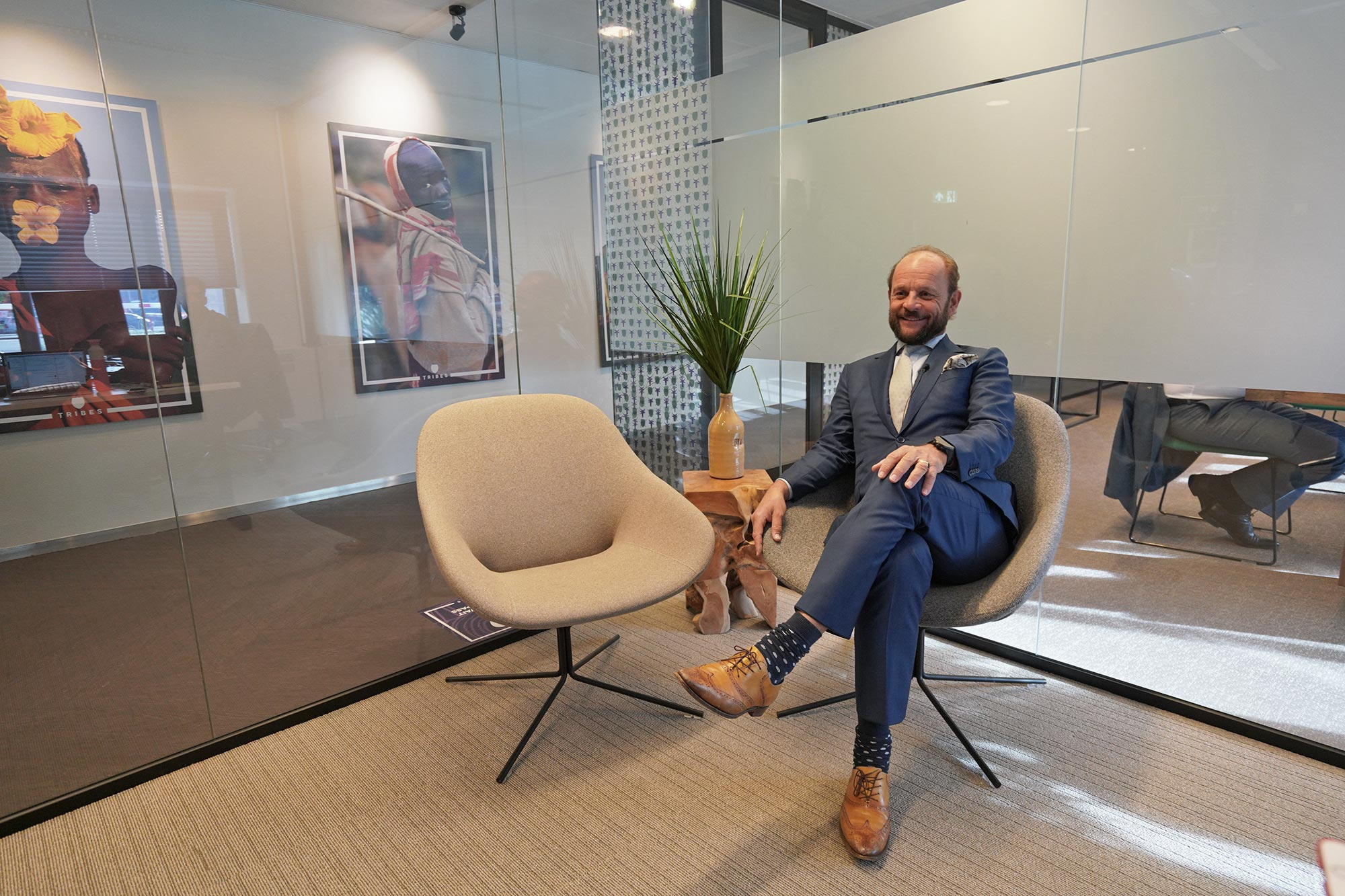 Eduard Schaepman - CEO Tribes im Interview - Coworking Anbieter Frankfurt