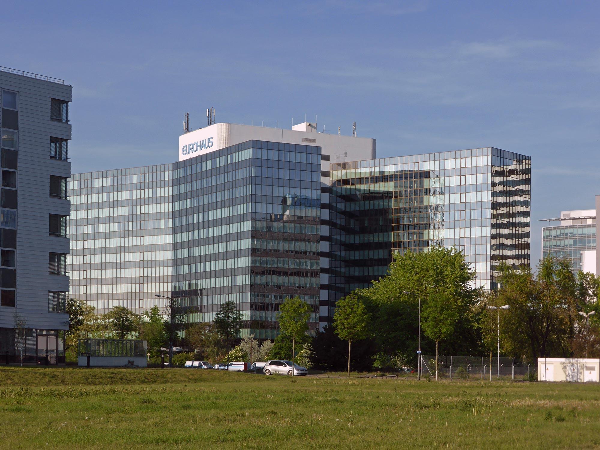 Eurohaus Frankfurt im Lyoner Viertel - Büros Bürostadt Niederrad - Buerflaechen Niederrad