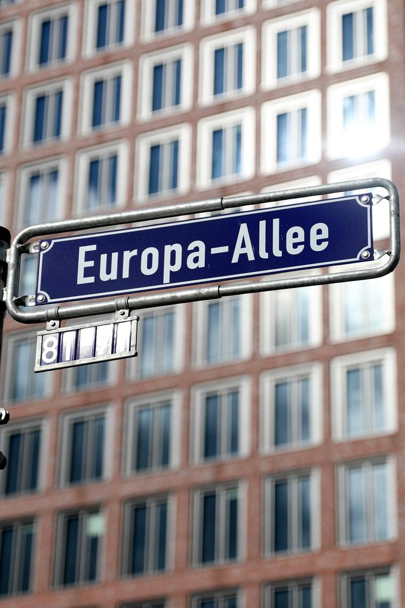 Europa Allee Frankfurt