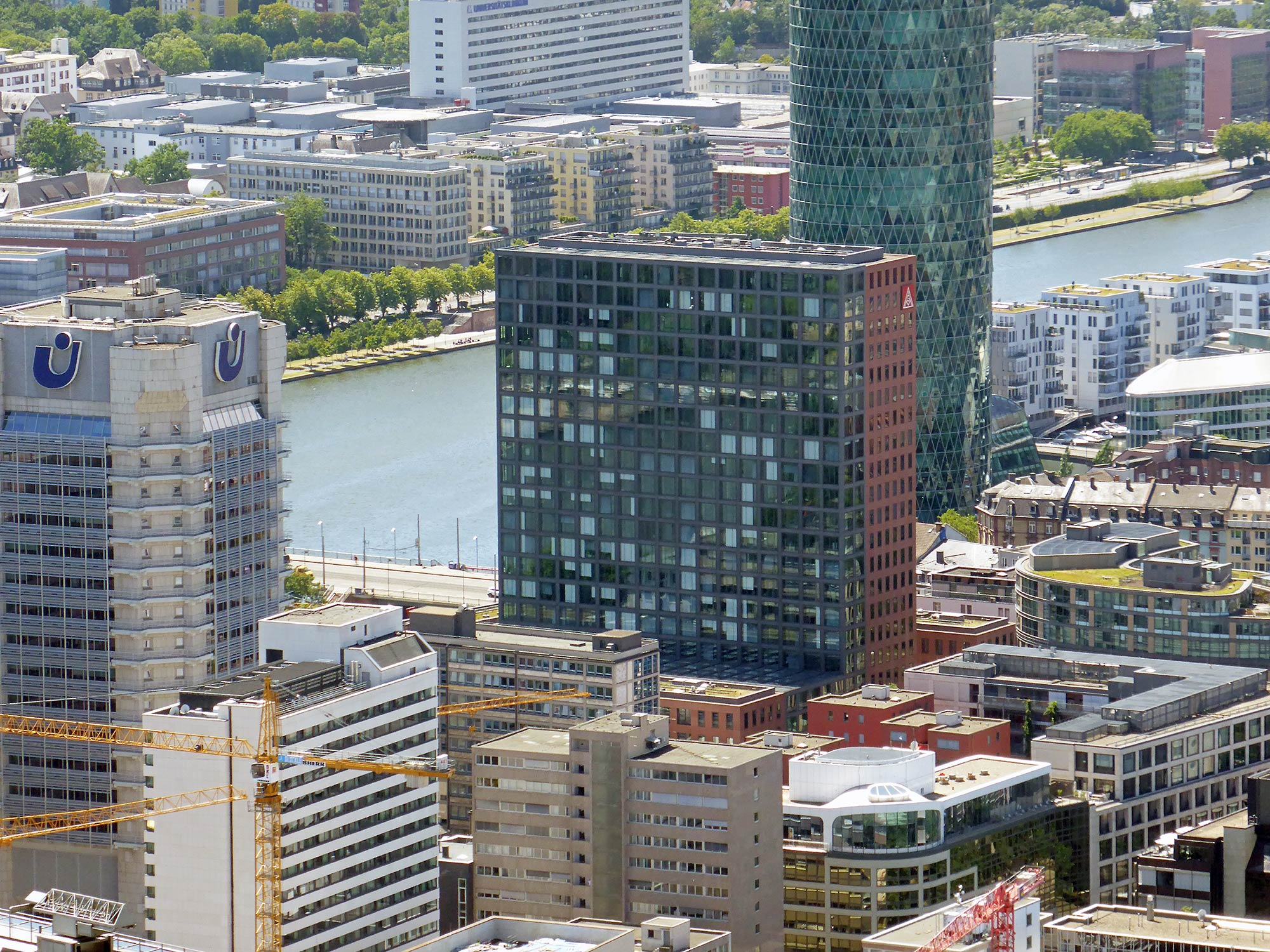 Mainforum Frankfurt am Main - Hochhaus der IG Metall - Hauptsitz