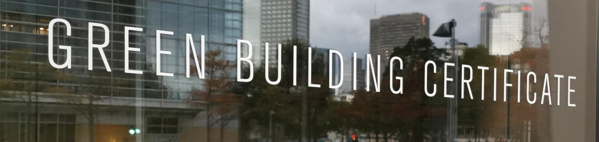 Nachhaltigkeit bei Immobilien - Green Building Zertifizierungen - Definition