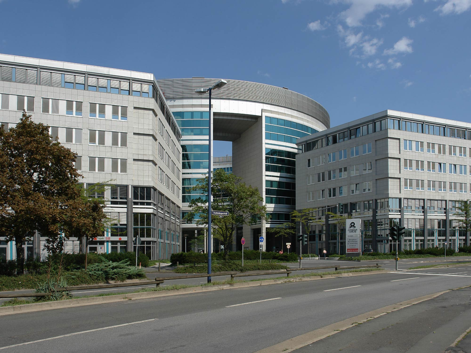 Omega-Haus Offenbach - Bürohaus Kaiserlei - Büros Kaiserlei - Büroflächen Offenbach