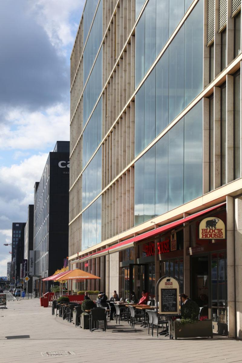 Restaurants Europa Allee Frankfurt