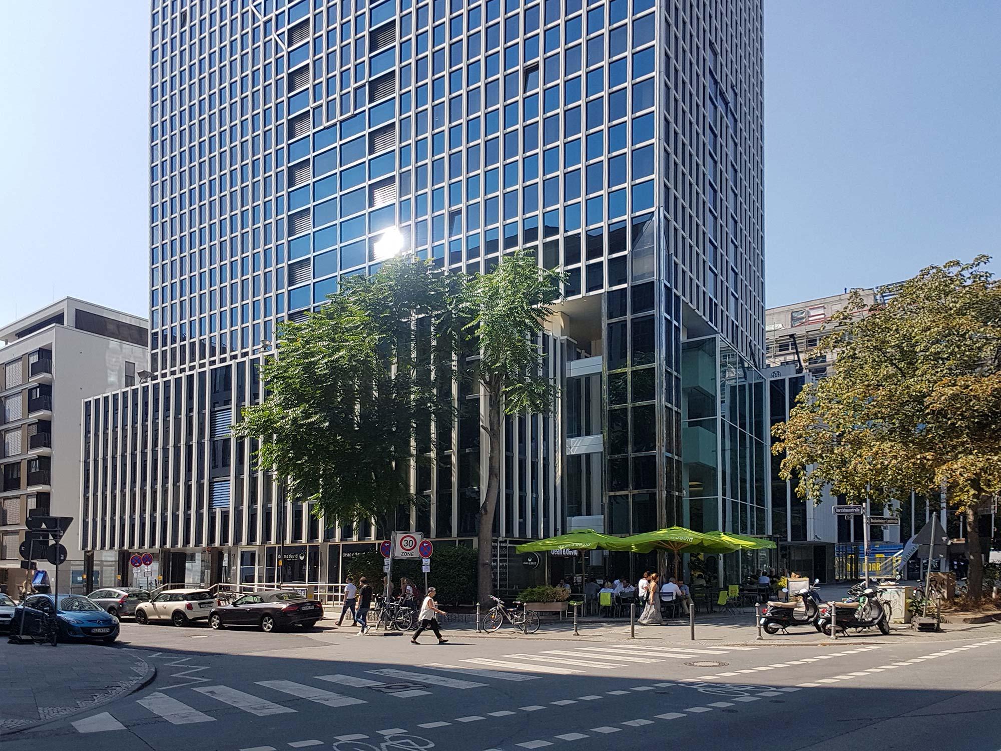 Rheinmain Center - RMC Frankfurt - Büroflächen Westend Frankfurt am Main - Sockel - Bockenheimer Landstraße