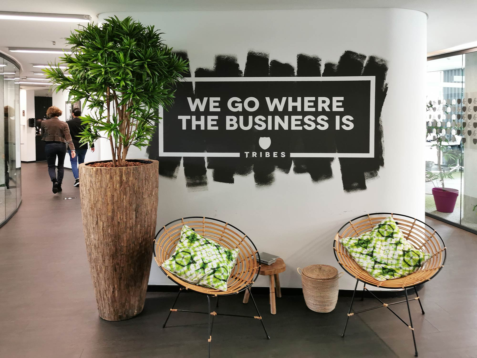 Tribes - We go where the business is