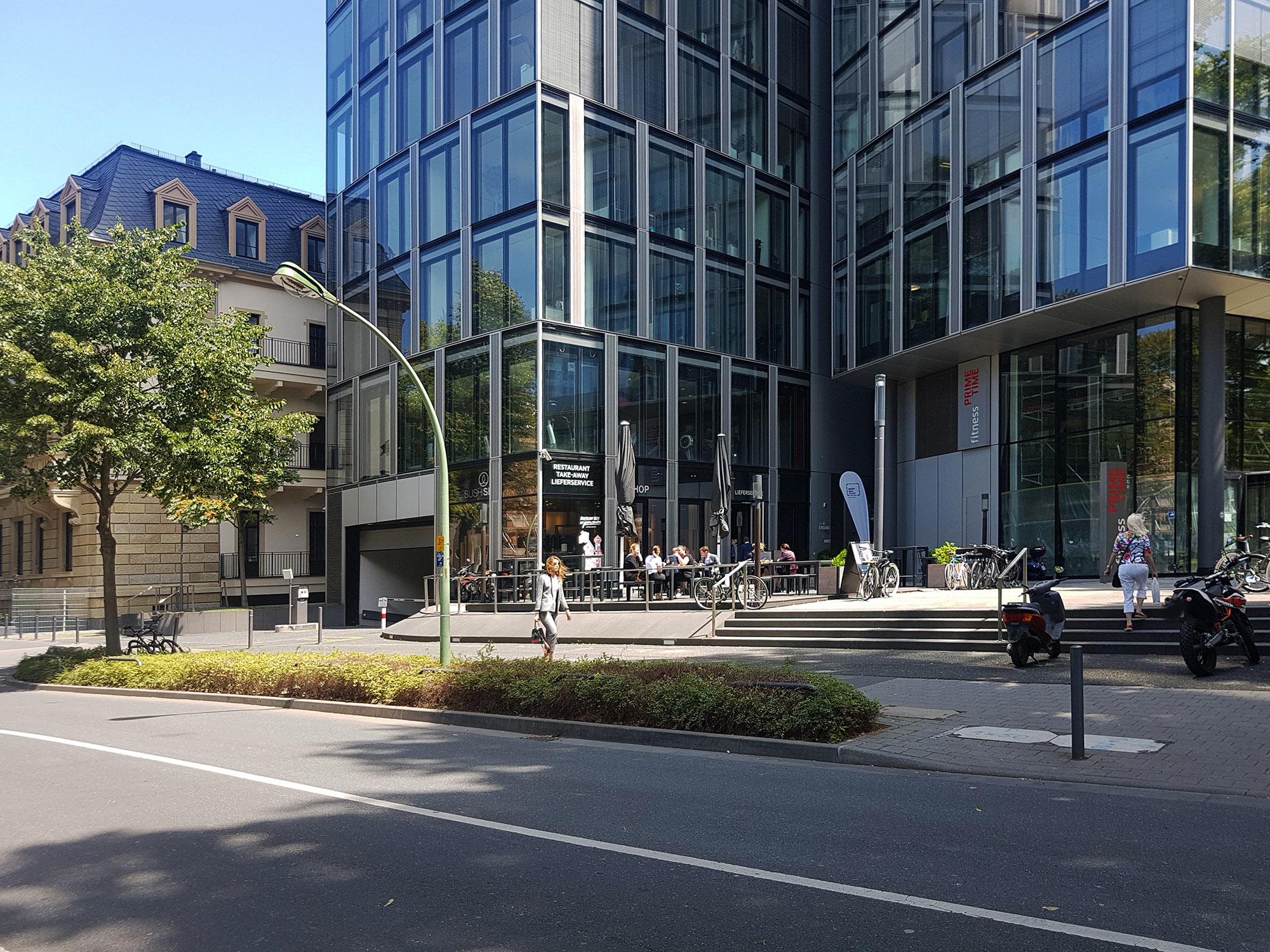 Westend Hochhaus - Büroflächen Westend - Westend Duo Hochhaus