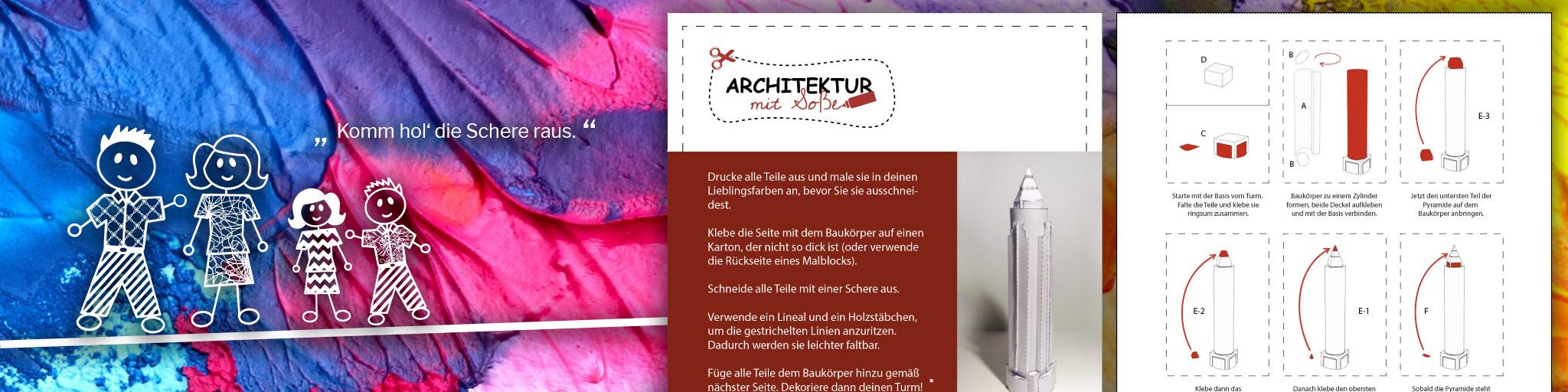 Architektur mit Soße