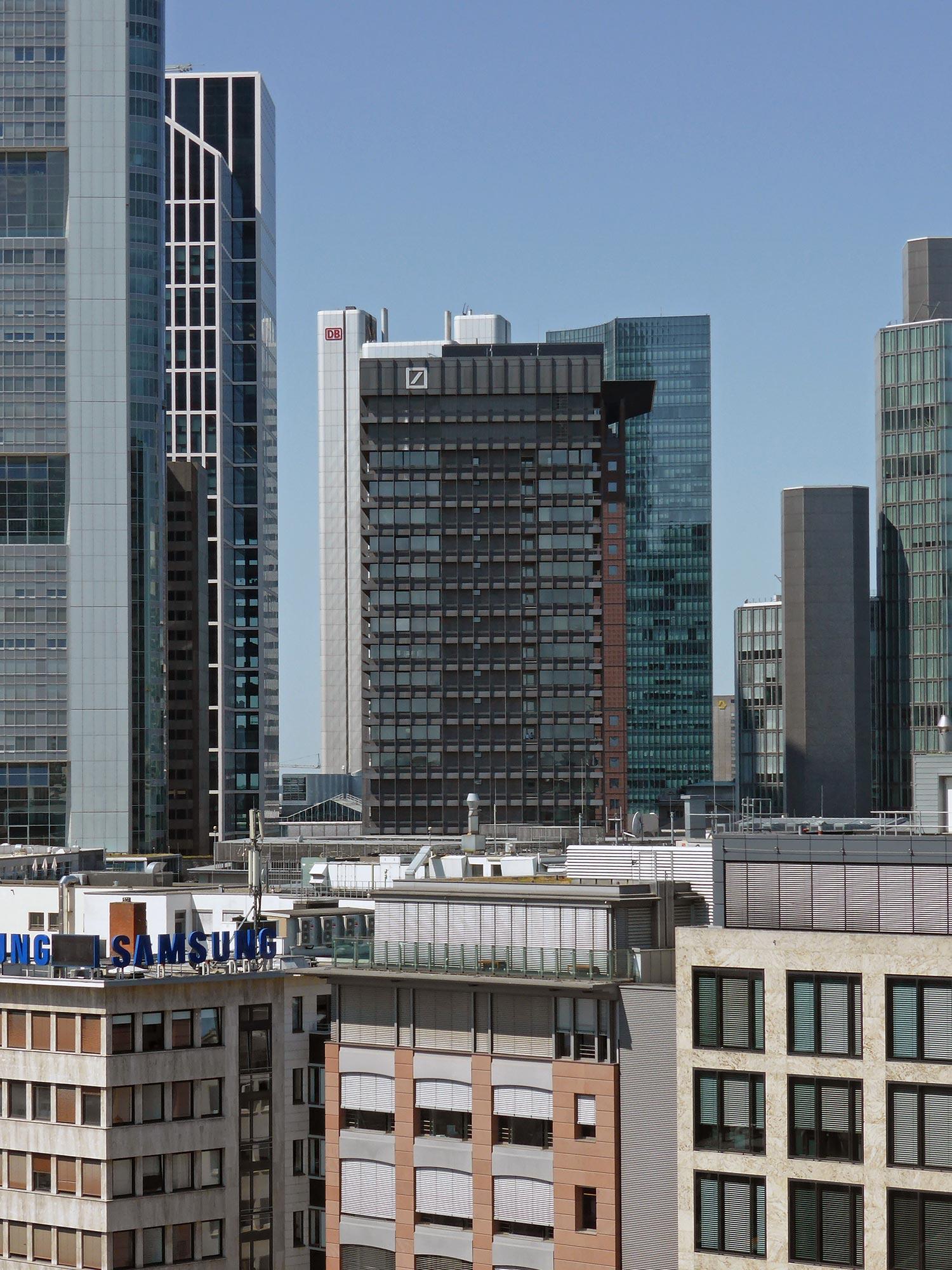 Bankenviertel FFM - Deutsche Bank Areal