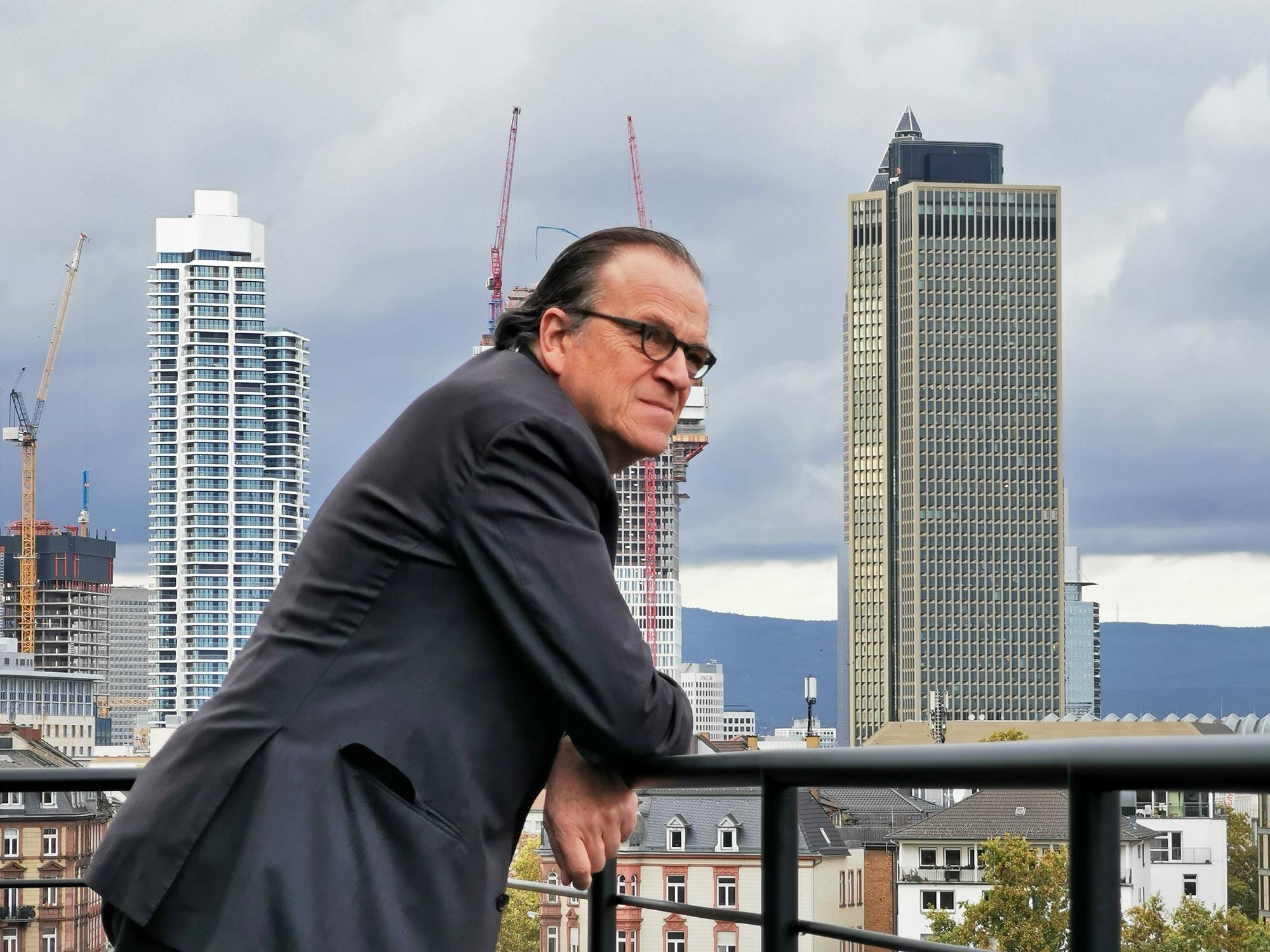 Interview mit Christoph Mäckler über Architektur in Frankfurt