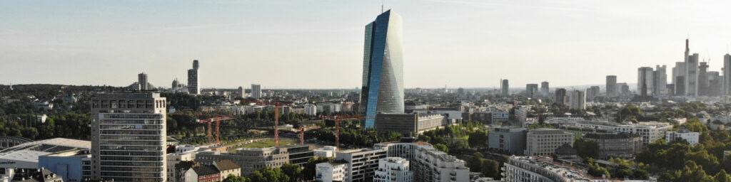 City Ost Frankfurt am Main - Ostend - EZB Hochhaus - Danziger Platz FFM