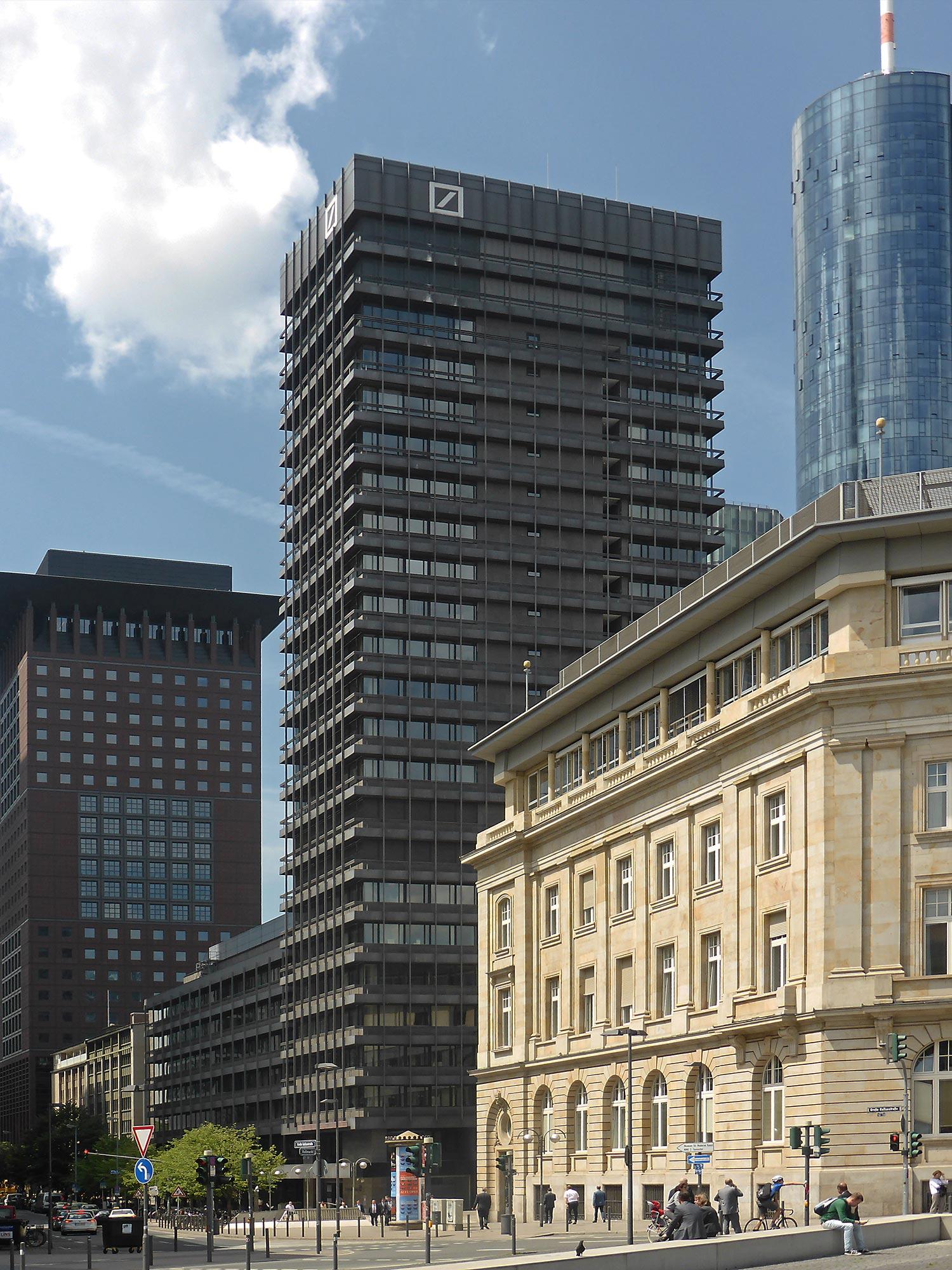 Deutsche Bank AG - Handelszentrum IBCF - Große Gallusstraße - Deutsche Bank Dreieck - Deutsche Bank Areal