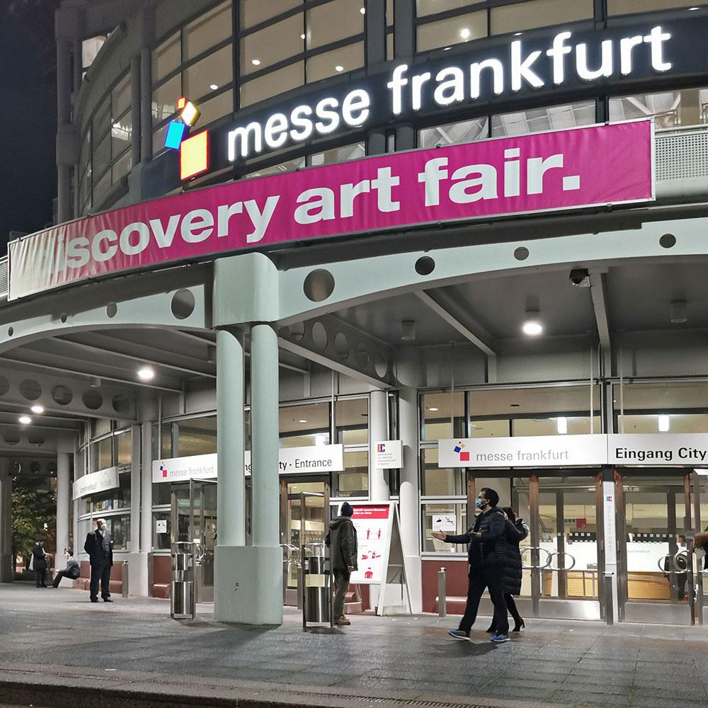 Discovery Art Fair Messe Frankfurt