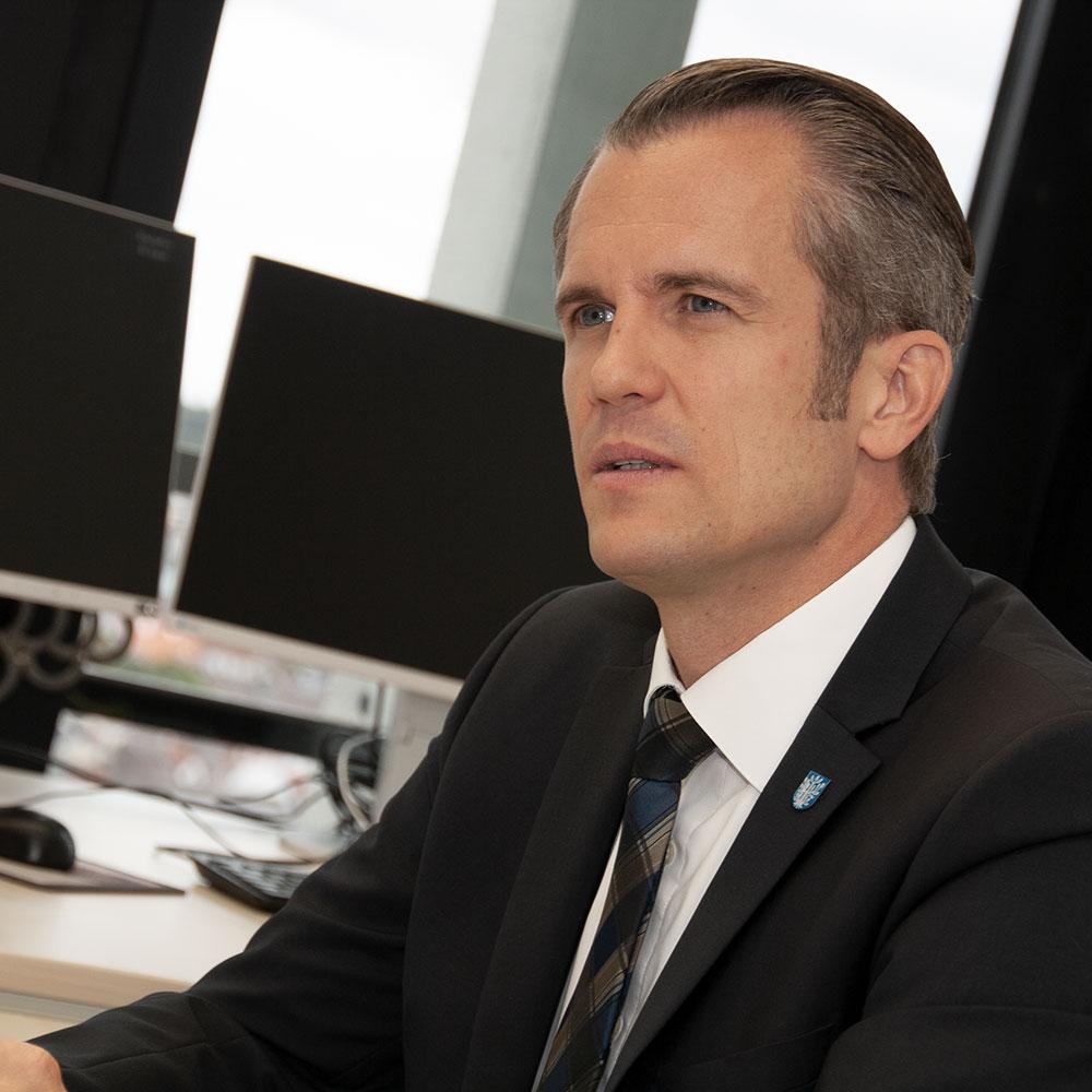 Dr. Felix Schwenke (SPD) - Oberbürgermeister Offenbach am Main