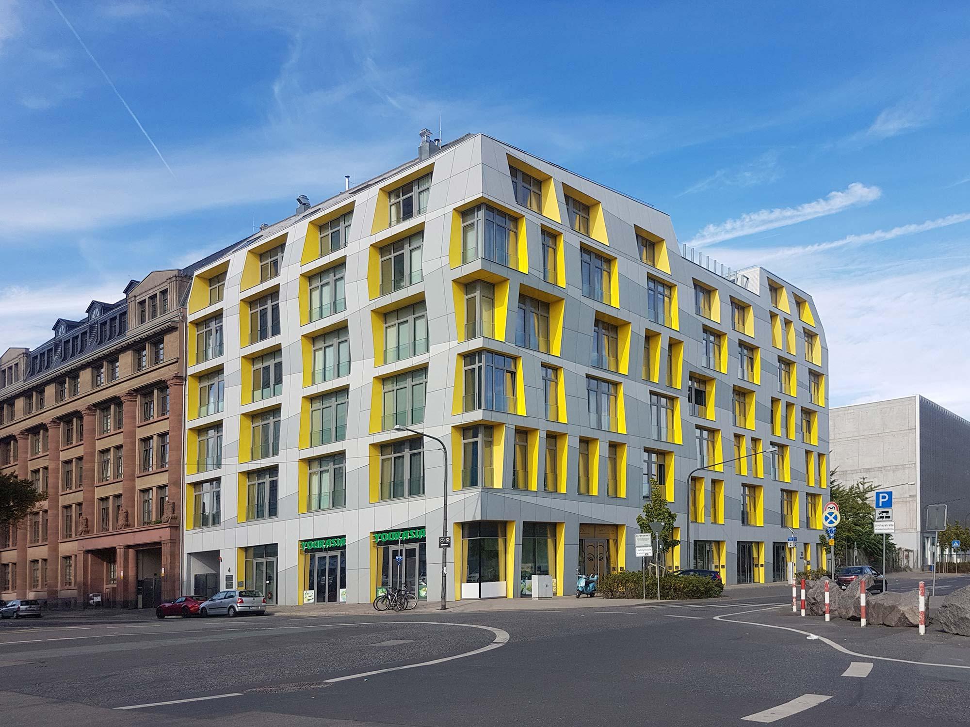 Eastside Lofts Frankfurt - Wohnungen zur Miete