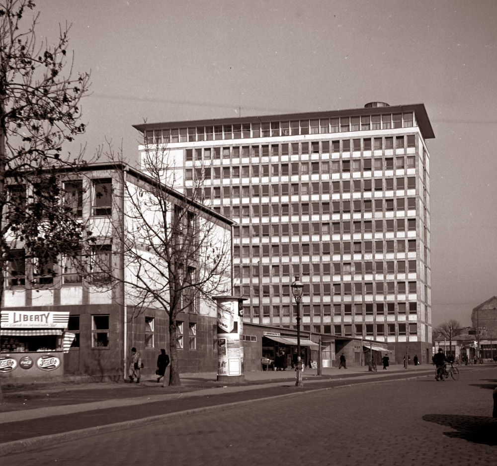 Frankfurt AEG-Hochhaus - ehemals geplant als Bundesarbeitsministerium