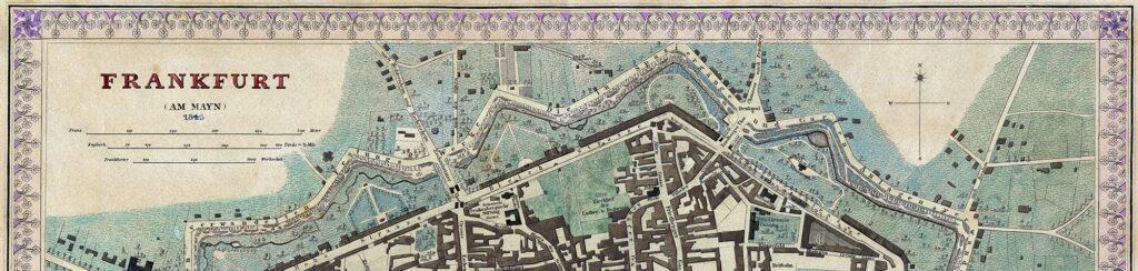 Frankfurt am Mayn im Jahre 1845