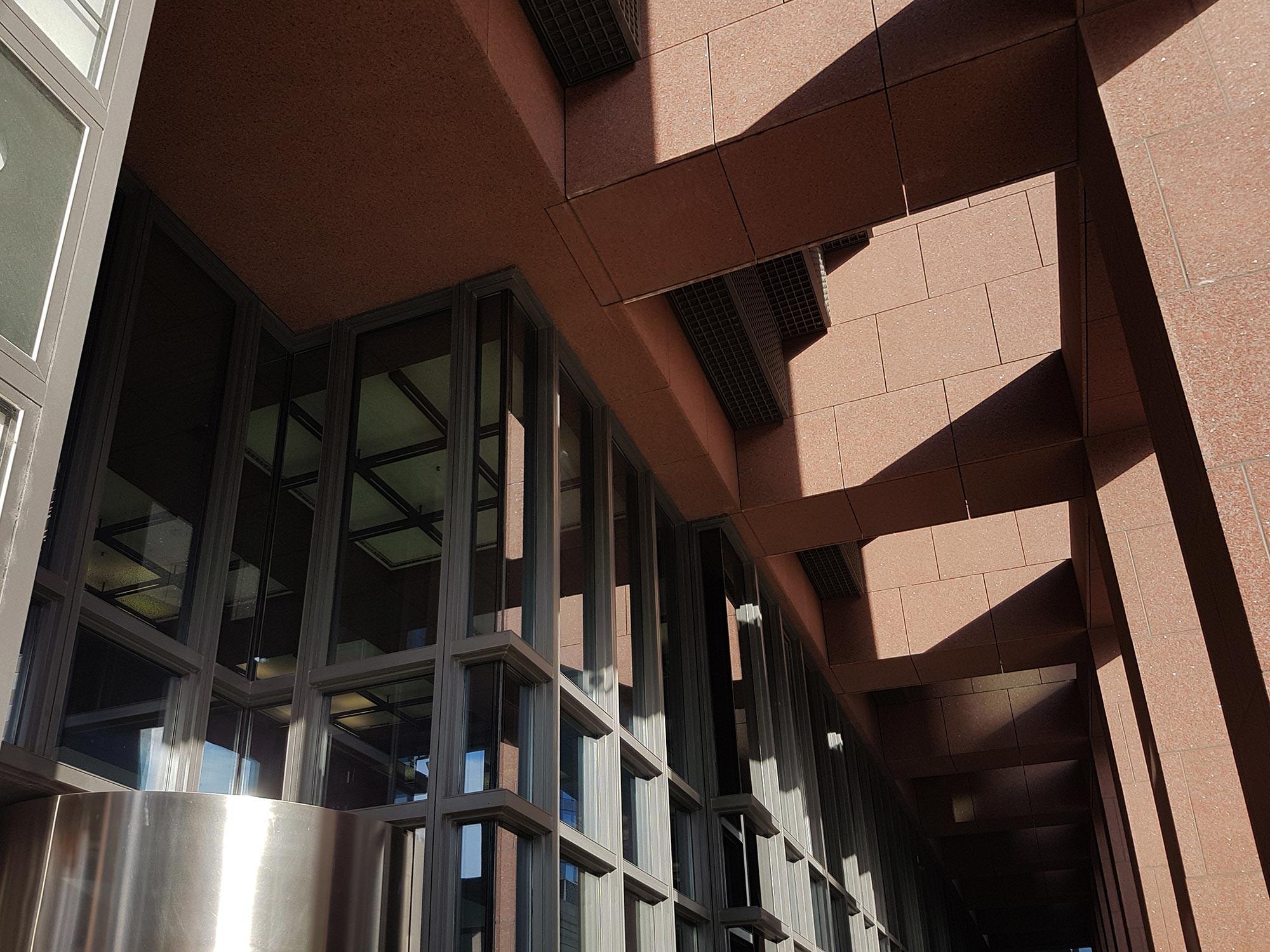 Japan Center Fassade - Japanische Architektur in Frankfurt am Main