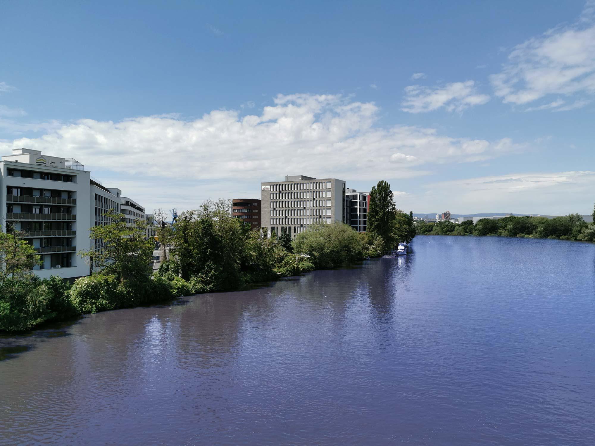 Hafenviertel Offenbach am Main - Wohnen am Fluß