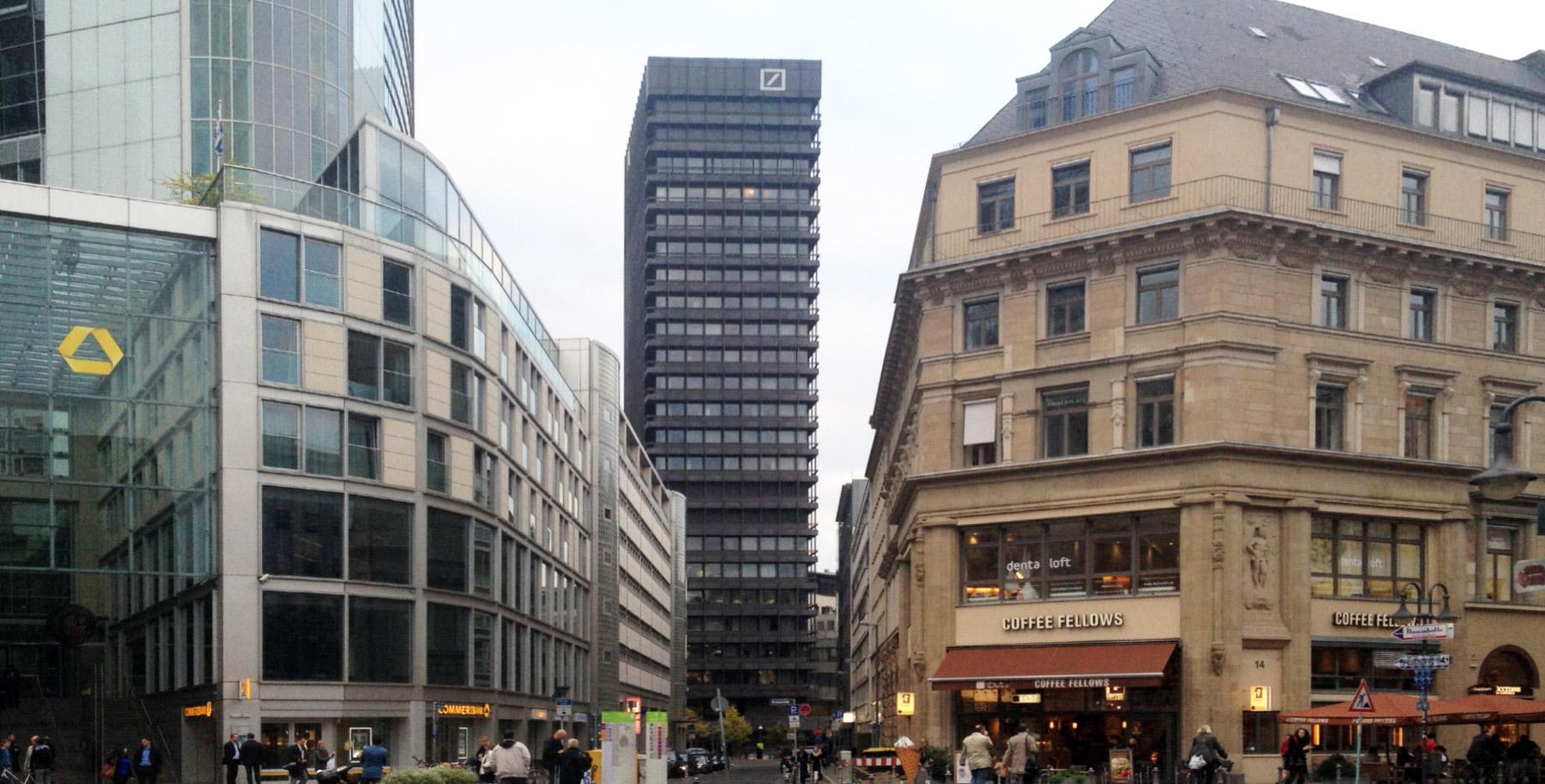 Hochhaus Deutsche Bank