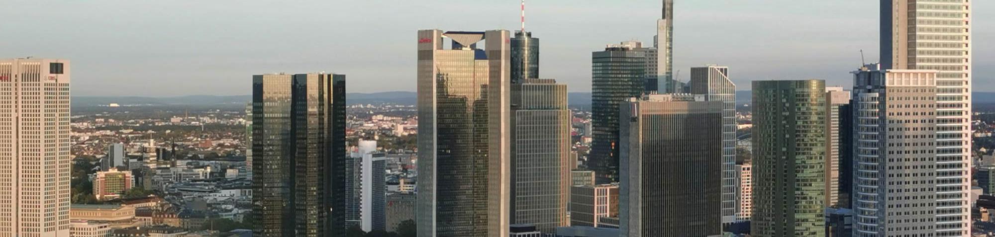 Frankfurt Drohnenvideo