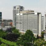 InterContinental Frankfurt - Hotel Inter Continental Frankfurt am Main - Hotel Hochhaus mit Skyline Blick FFM