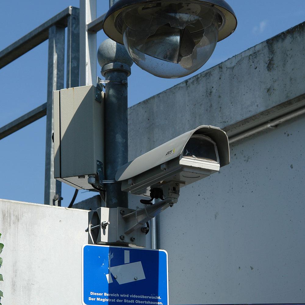 Überwachung durch Kameras - Sicherheit in der Öffentlichkeit