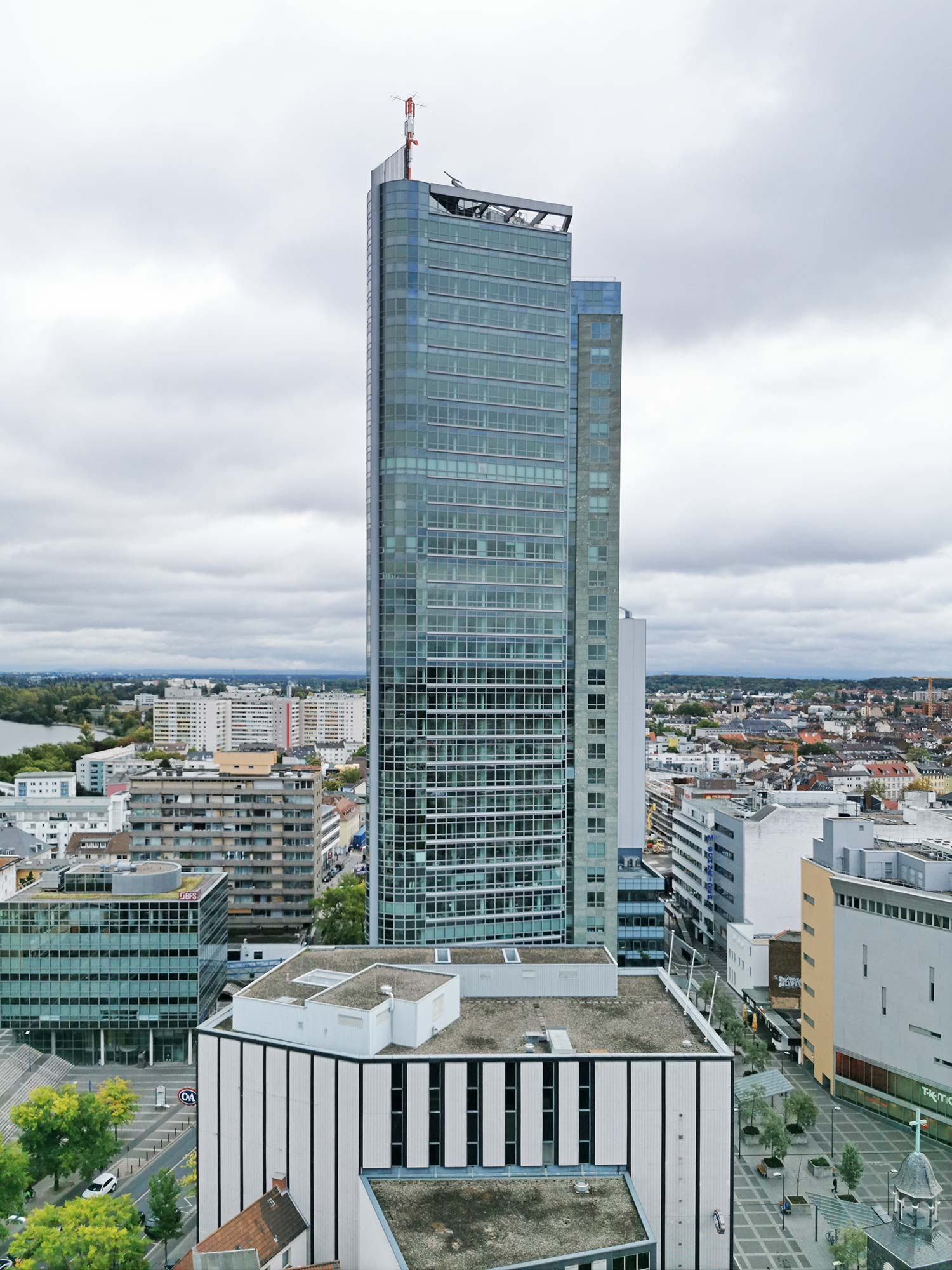 Offenbach City Tower - Bürohochhaus Citytower OF - Berliner Straße