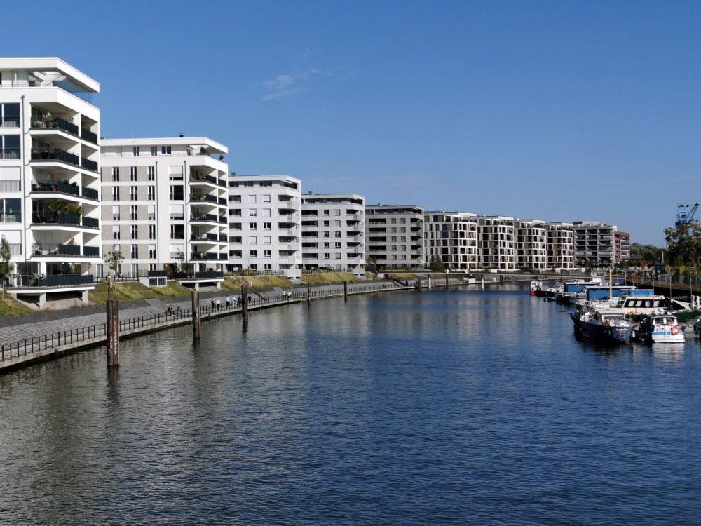 Offenbach Hafen - Neuer Hafen Offenbach am Main