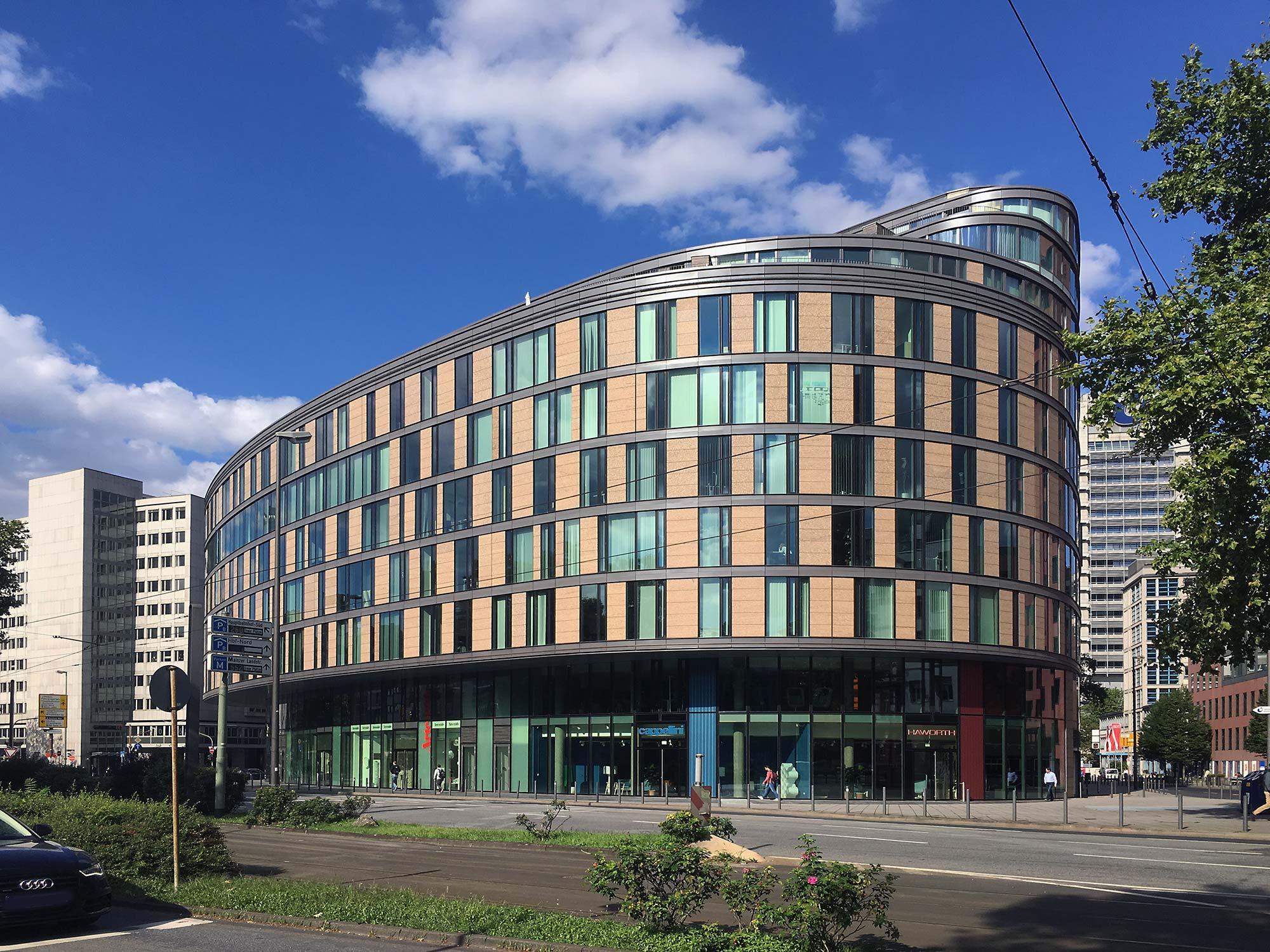 Oval am Baseler Platz - Baseler Oval - Bürogebäude Gallusviertel - Baseler Straße