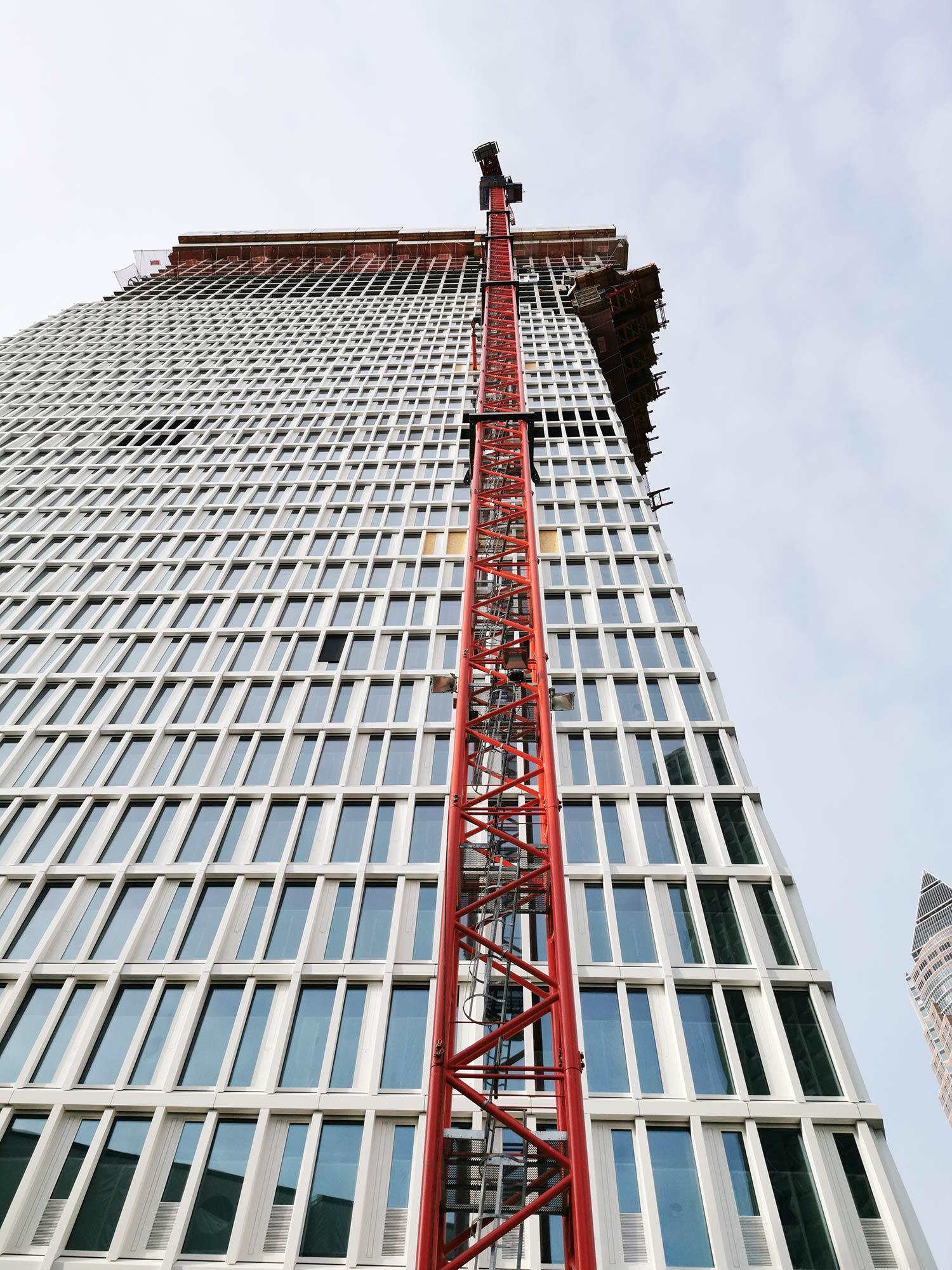 Projektentwickler Frankfurt am Main - Immobilienprojektentwickler Frankfurt - Wolkenkratzer Frankfurt