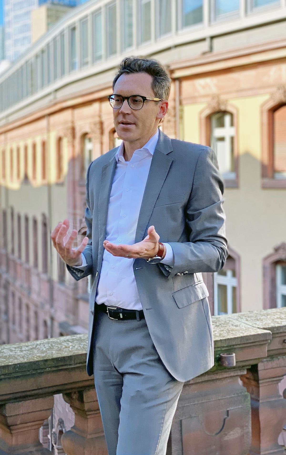 Stadtpolitik Frankfurt - CDU Fraktionsvorsitzender Dr. Nils Kößler