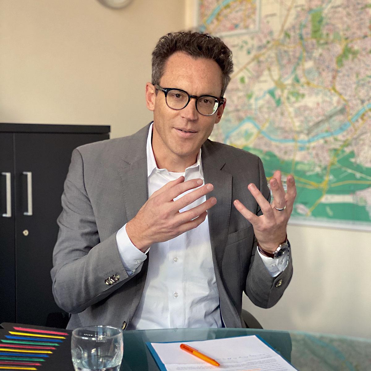 Stadtverordneter Nils Kößler (CDU) - Spitzenkandidat der CDU in Frankfurt am Main für die Kommunalwahl 2021