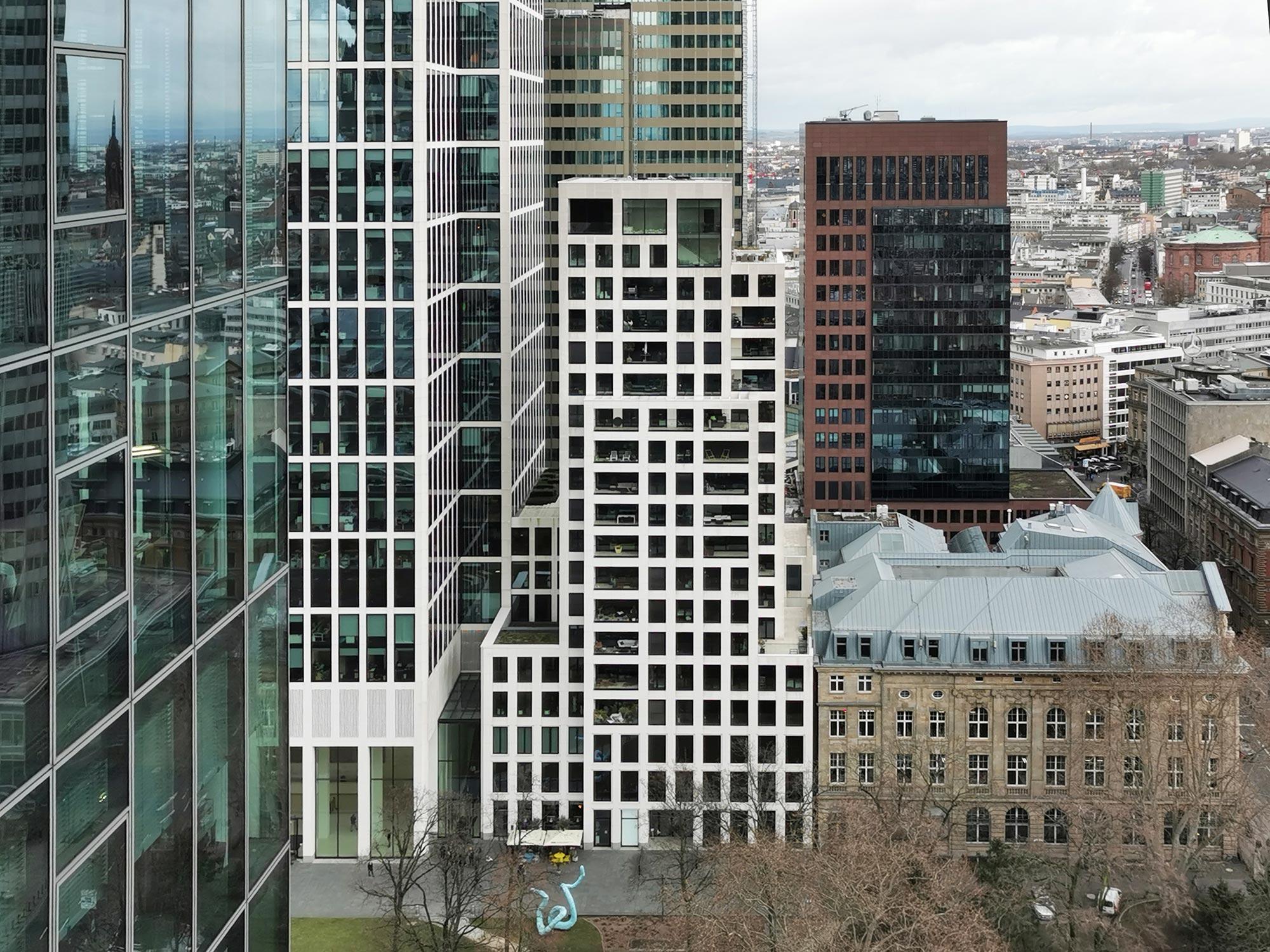 Taunus Turm Residential Frankfurt - Gallusanlage CBD Wohnturm mit Luxuswohnungen