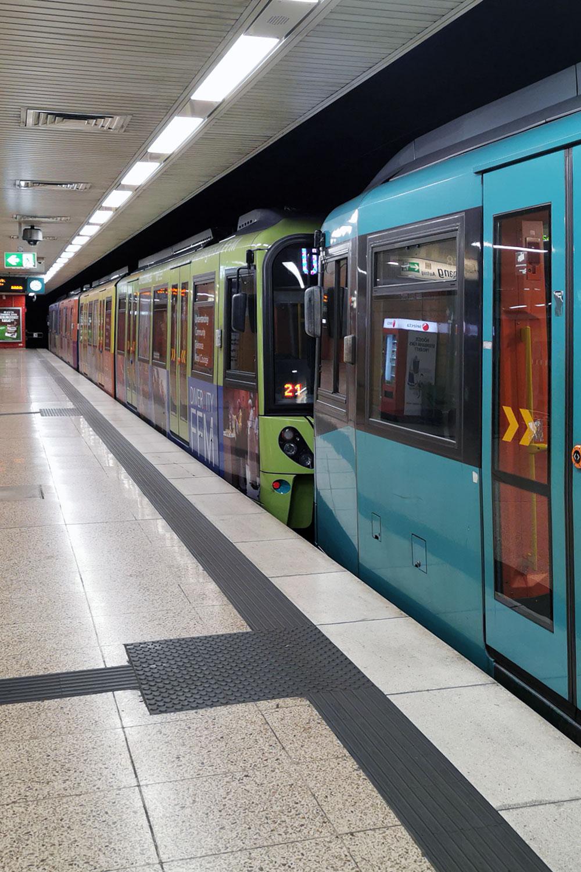 U-Bahn (VgF) und ÖPNV sind ein Wahlkampfthema 2021 in Frankfurt am Main