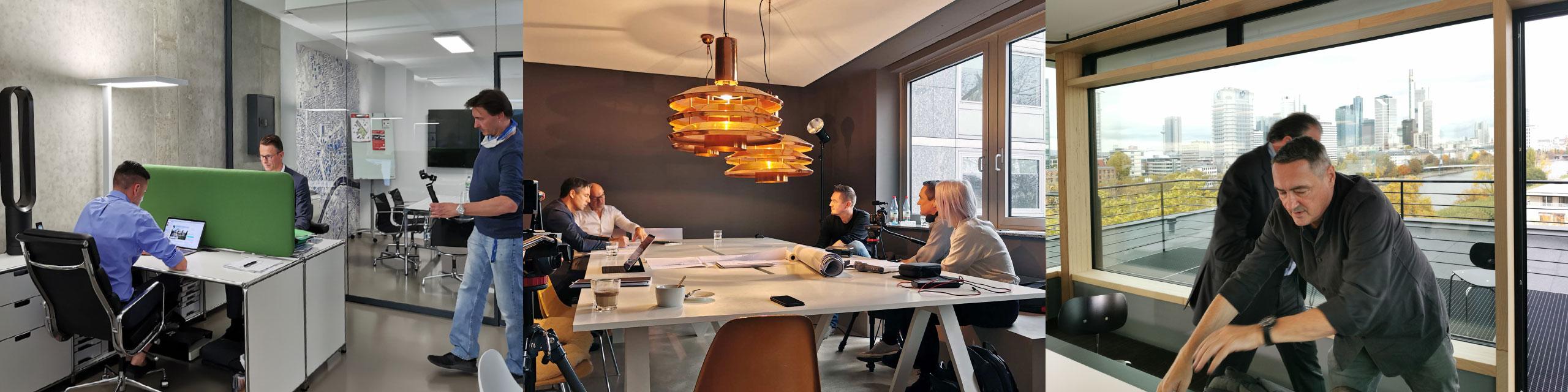 Video-Produktionen Frankfurt am Main für die Themen Immobilien, Architektur und Bauen - Videoschnitt - Videos erstellen - Videos produzieren