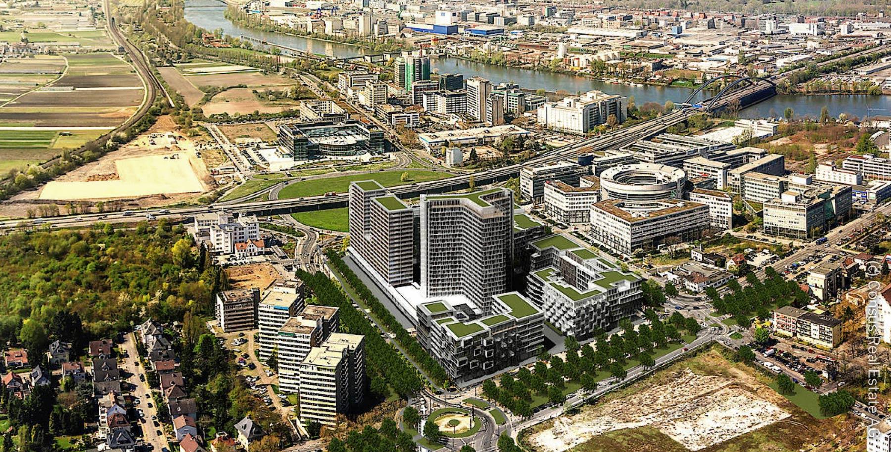 Vitopia Campus Offenbach am Main - New Frankfurt Towers - Kaiserlei Offenbach - Ehemalige Siemens Hochhäuser - CG Gruppe - Consus Real Estate AG