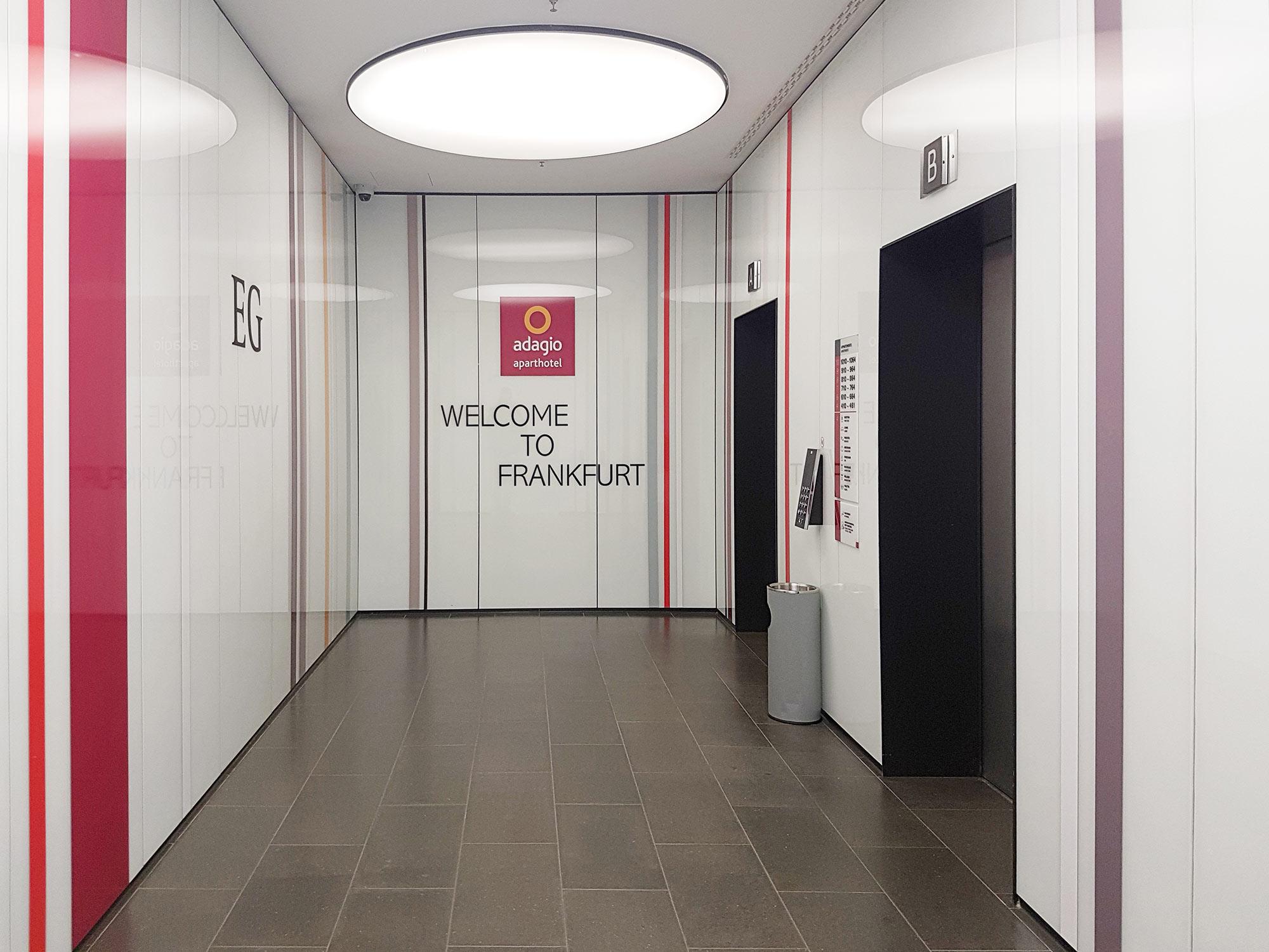 Aparthotel Adagio Frankfurt - Aufzüge von KONE - Frankfurt Westend Gate Hochhaus Hotel