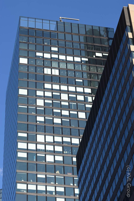 Projektmanagement bei Hochhäusern in Frankfurt - Wolkenkratzer-Fassaden - KVL Bauconsult