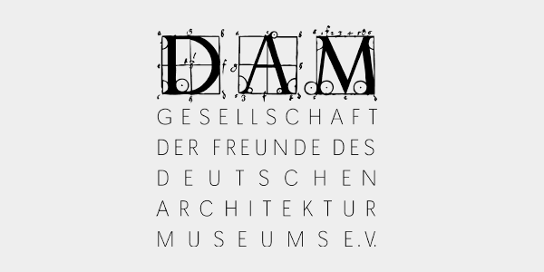 Friends of DAM Logo - Freunde des DAM e.V. Logo - Gesellschaft der Freunde des Deutschen Architektur Museums e.V.