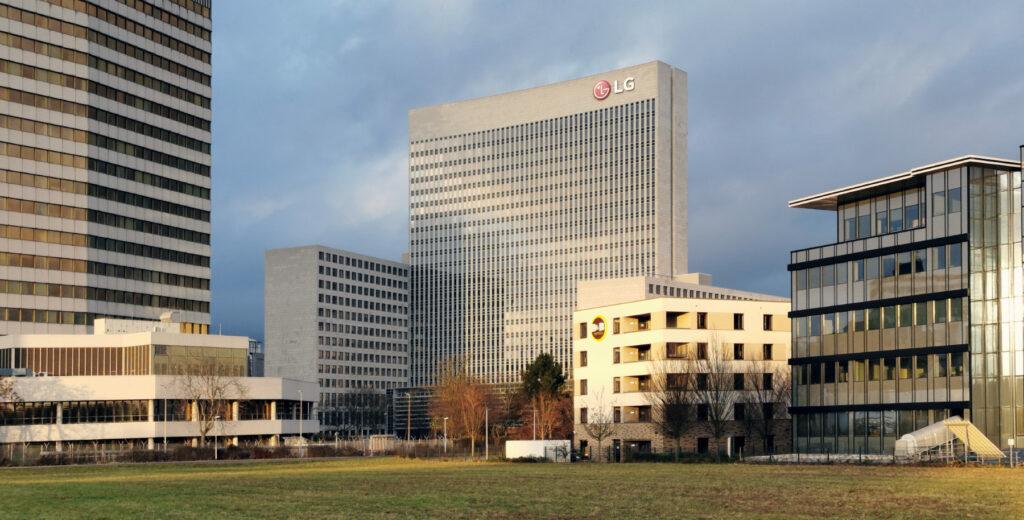 Horizon Tower Eschborn - LG Hochhaus - Arcor Haus - Vodafone Tower - Architekt Jo. Franzke