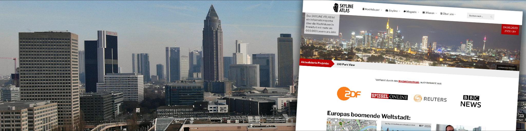 SKYLINE ATLAS Premium Partner - Onlinewerbung Immobilien - Architekturportal Frankfurt - Onlinemarketing Portal - Werbeschaltung Immobilien - Werbung Architektur - Werbung für Immobilien