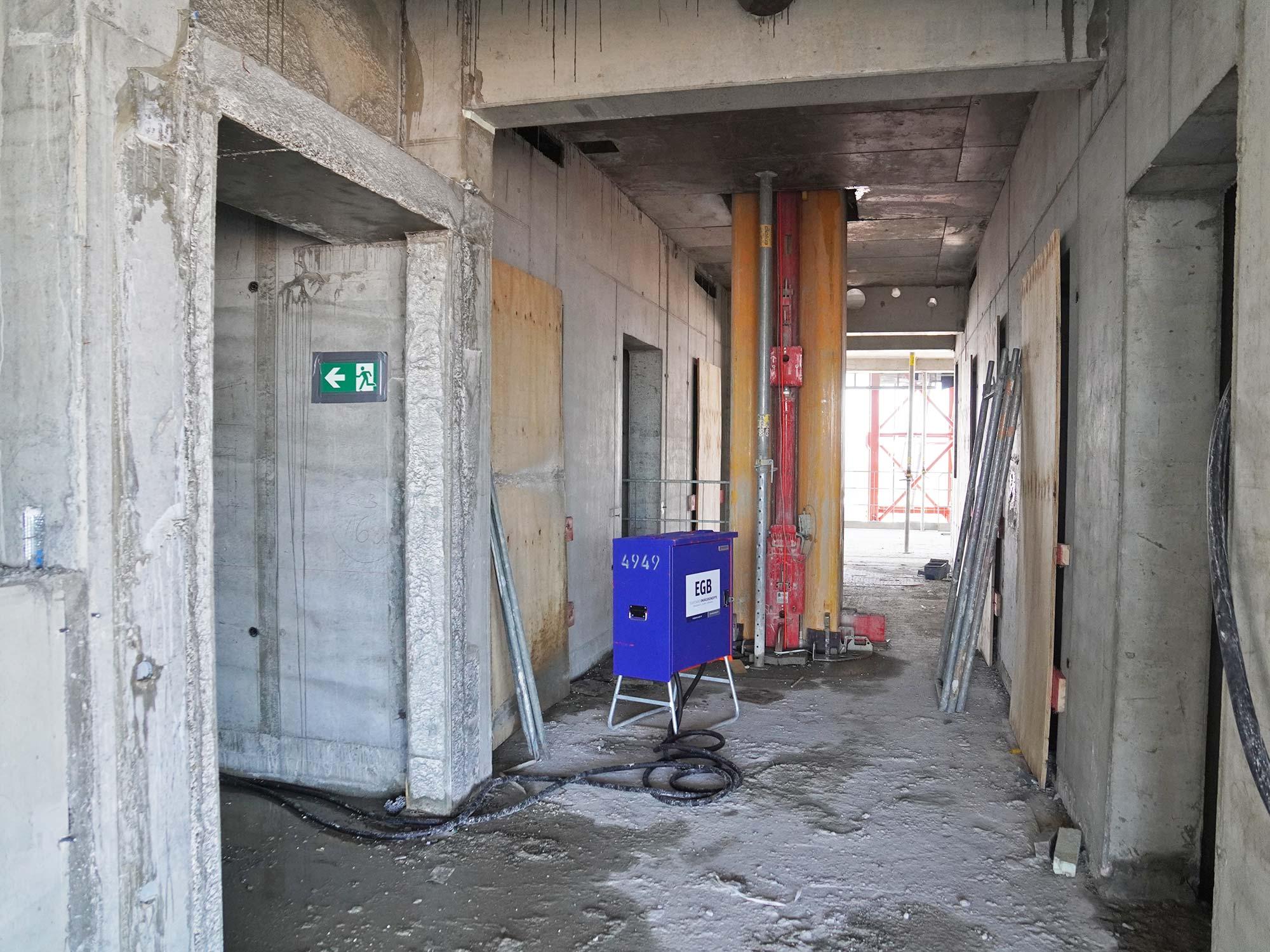 Hochhaus-Rohbau - EGB - Betonrohbau