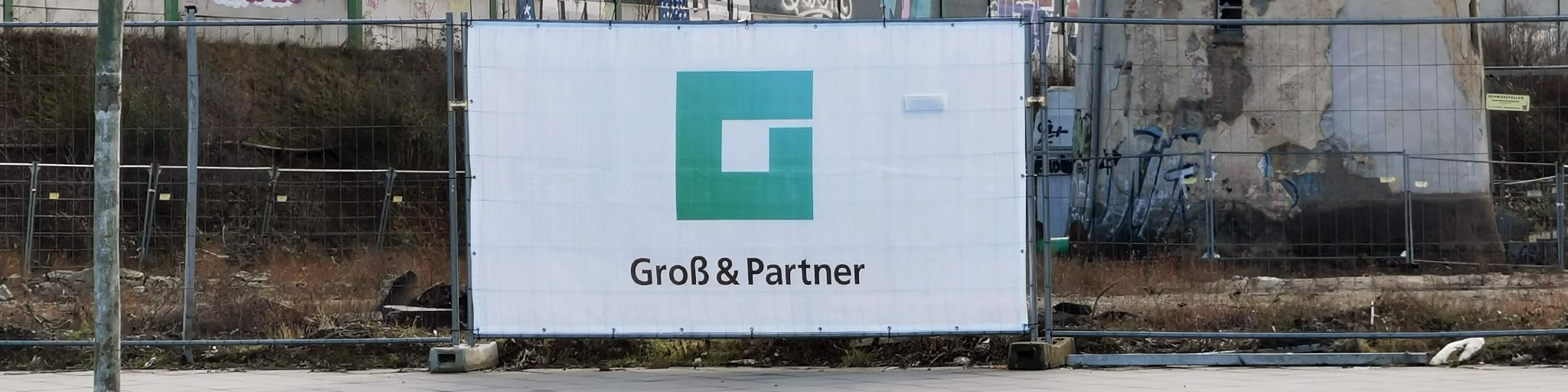 Groß und Partner GmbH Logo - Groß und Partner Logo - GP Logo - G&P Logo - Projektentwickler Frankfurt