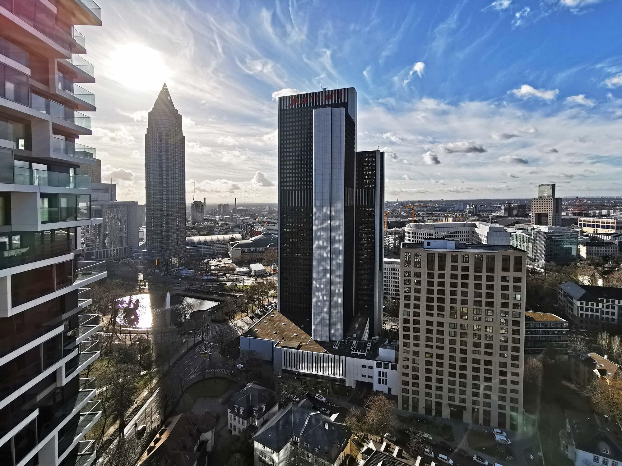 Panorama Frankfurt - Neue Büroflächen zur Miete mit Aussicht - Hochhaus 2021 Büros