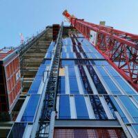 Mit Drees & Sommer über die Baustelle des Senckenberg Turms