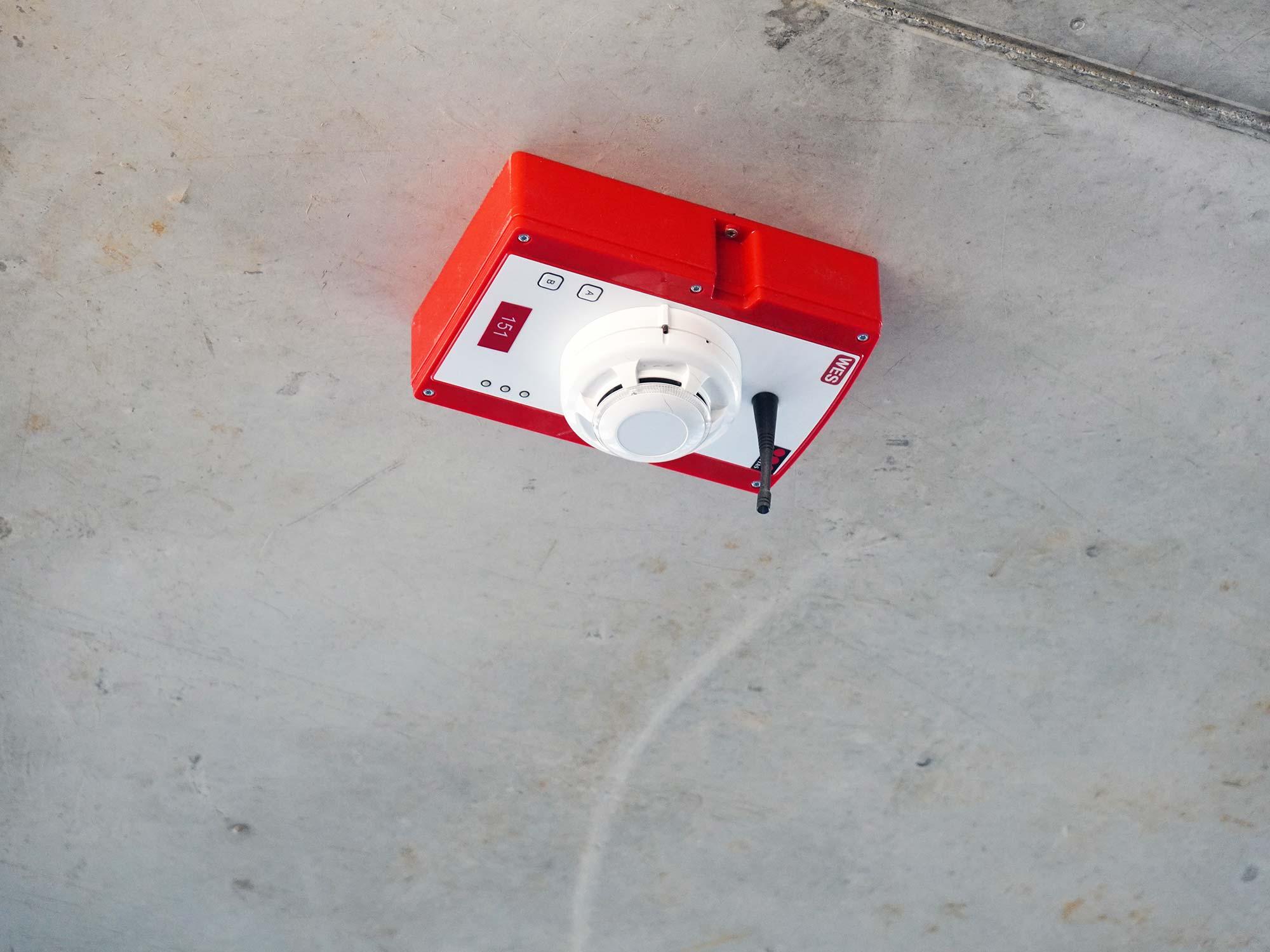 Mobile Brandmeldeanlage - Sicherheit im Hochhausbau - WES - Securitas