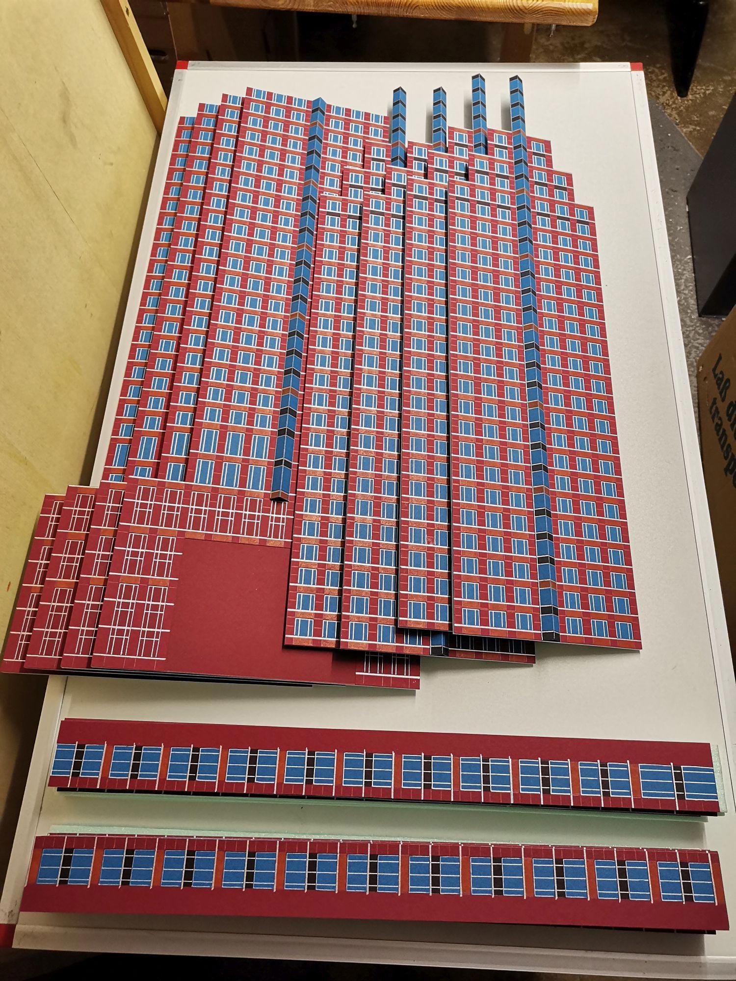 Fassadenelemente - Fassadenteile - Hochhaus Frankfurt